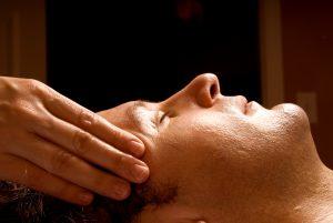 Headache relief technique of CranioSacral Therapy